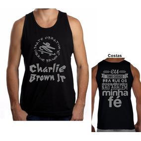 Camisa, Regata Charlie Brown Jr Chorão Pontes Indestrutíveis