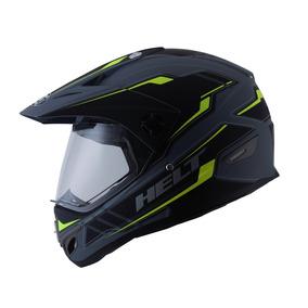 Capacete Helt Cross Vision Triller Preto Fosco Black Matt
