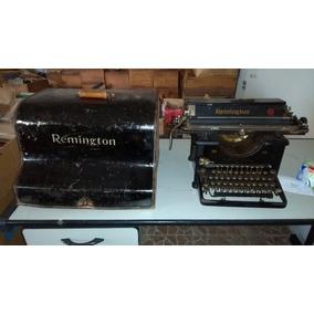 Maquina Escrever Remington 30 Tampa Funcionando Fita Brinde