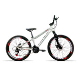 Bicicleta Aro 26 Venzo Fx3 21v Index Freio A Disco Branco