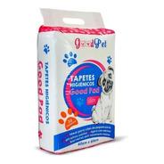 Tapete Higiênico Banheiro Fralda Pet Cães 60x60 Cm - 30 Unid