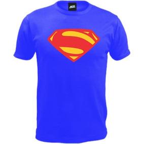 Remera Superman Man Of Steel Ac Estampas