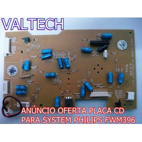 Placa Cd Som Fwm396 Philips Nova Original