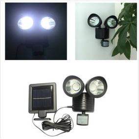 Lámpara Solar Luz Exterior De Seguridad Sensor De Movimiento