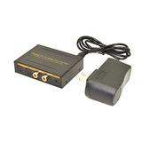 Comprar Ahora Convertidor De Audio Switch Con 2 Fibra Óptic