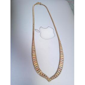 Gargantilla De Oro Puro Collar 14k No Moneda Anillo Regalo