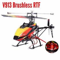 Helicóptero V913 Brushless Version 4-ch 2.pronta Entrega