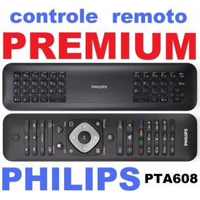 Controle Remoto Pta608/55 Premium Com Teclado Qwerty Philips