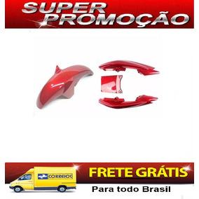 Rabeta + Paralama Dianteiro Ybr 125 Factor 2011 Vermelho