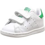 Kids 1 adidas Originals Stan Smith Tenis White & Green Gym