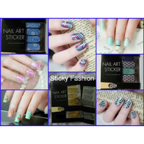 Nail Stickers Para Uñas -calcomanias Decoración Uñas