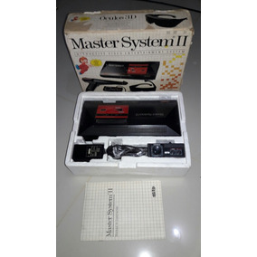 Master System 2 Na Caixa Todo Original