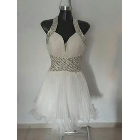 Vestido De Novia Talla S-m Ajustable Hermoso