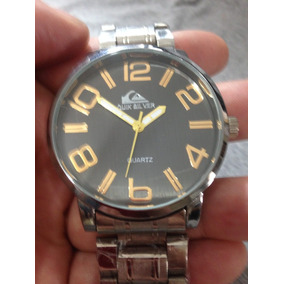 Relógio Quiksilverr Analógico Rp Pulseira Steel