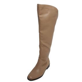 de1c7f047 Bota Over The Knee Montaria Com Elástico - Frete Grátis