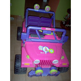 Jeep Barbie A Batería - Marca Fisher Price (power Wheels)