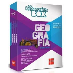 Box Livros Ser Protagonista Geografia Ensino Medio Integrado