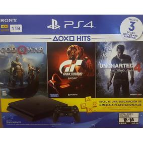 Ps4 Sony 1 Tera Cuh2115b 03 Jogos Nota Fiscal Lançamento