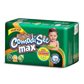Pañales Kleenbebé Comodisec Max Grande 38 Pzas