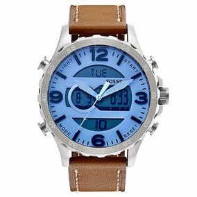 Reloj Fossil Mens Jr1492 Analogdigital Display Analog Quartz