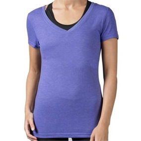 Playera Atletica Global Neck Mujer Reebok Ap9651