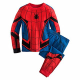 Pijama Hombre Araña Spiderman Para Niños Disney