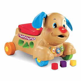 Perrito Carrito Montable Fisher Price Educativo Con Sonidos