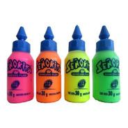 Adhesivo Vinilico Tipo Plasticola Fluo Por 30 Gramos