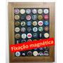 Quadro Tampinhas De Cerveja - Expositor Magnético