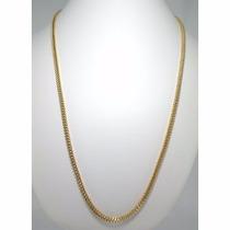 Corrente Masculina Grumet 60 Cm Cordão Ouro18k 750 Promoção