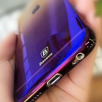 Funda Case Iphone 7 Y Plus Gradient Original Colores Brillo