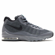 Bota Nike Air Max Invigor Mid Gris Nov 2016