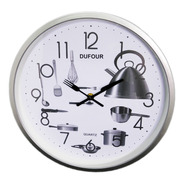 Reloj De Pared Dufour D037 Deco Cocina Joyeria Esponda