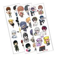 Plancha De Stickers De Anime De Death Note Light Misa Ryuk L