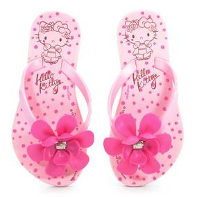 Rasteira Hello Kitty Rosa Escuro - 21546