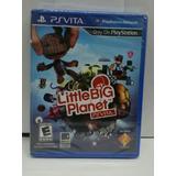 Juego Original Psvita Little Big Planet, Nuevo Sellado