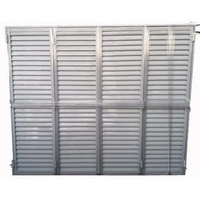 Postigon De Aluminio 200x200 4 Hojas