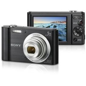 Câmera Digital Sony W800 Preta Cyber Shot 20.1 Mp Tela Lcd
