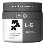 Glutamina Aminoácido 100% Pura 300gr - Max Titanium