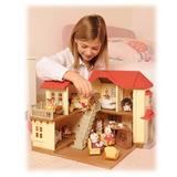 Casa Luces City Hause Sylvanian Families Para Niños 2752