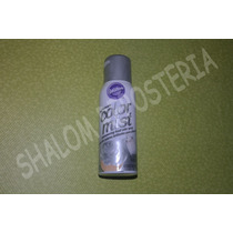 *spray Comestible Plateado Color Mist Wilton Pastel Fondant*
