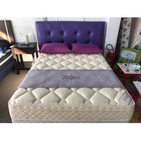 Colchón Belmo 140x190 Dorado Pillow Alta Densidad 33 Kg/m3