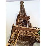 Msi Torre Eiffel Laser -4 Archivos Vector 25-60-80-100cm