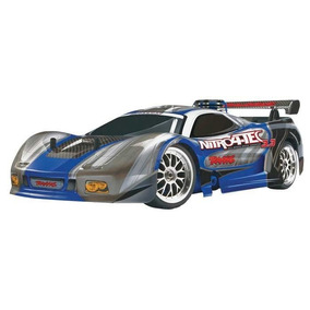 Carro Traxxas Nitro 4-tec 3.3 2.4ghz Rtr 4807 Glow Turbo Rc
