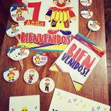Piñon Fijo Kits Imprimibles Candybar Deco Cumples