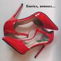 Sapato Feminino Stiletto Sharp Strap Red Tam: 36 12x R$24,16