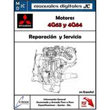 Manual Taller Motor Mitsubishi 4g63 Y 4g64 Original Español