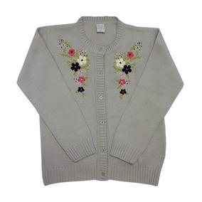 Pompas - Sweaters Para Chicos / Niños - Cárdigan Bordado