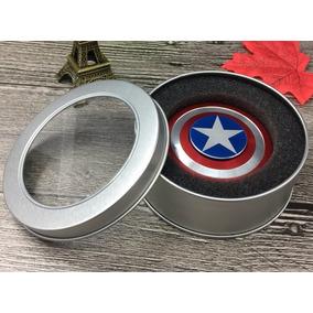 Spinner Escudo Del Capitan America