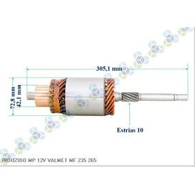 Induzido Motor Partida Valmet Mf 235 265 12v 9001083612